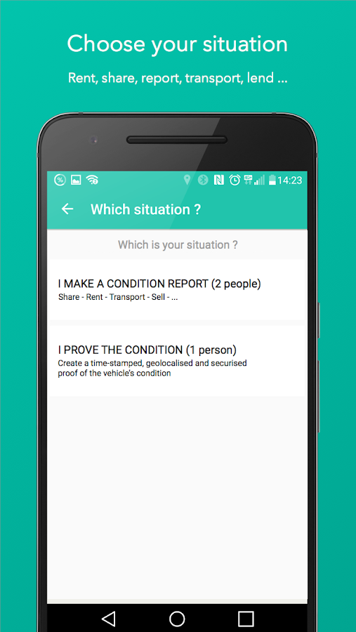 WeProov - Condition reports- screenshot