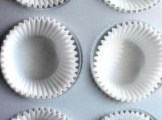 Preheat oven to 350 degrees, Line jumbo muffin tin (s) with paper liners; set...