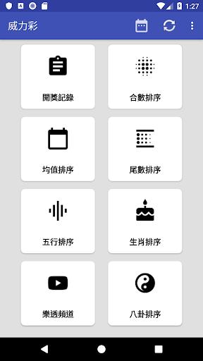 威力彩 - 遺漏大數據 screenshot 2