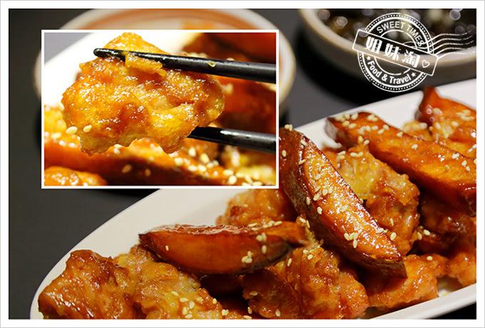 玉豆腐韓式甘醬炸雞