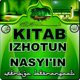 KITAB IZHOTUN NASYI'IN - náhled