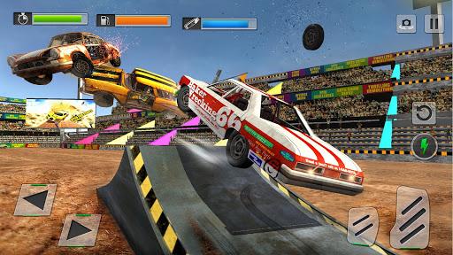 Derby Car Crash Stunts Demolition Derby Games apkpoly screenshots 3