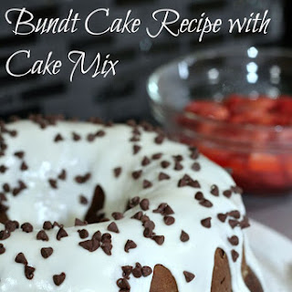 Homemade Double Chocolate Mocha Bundt Cake