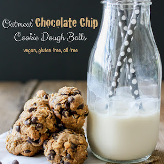 Oatmeal Chocolate Chip Cookie Dough Balls