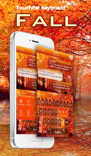 TouchPal Fall Keyboard Theme