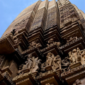 Design on outside wall of Temples by Swarup Roy Chowdhury - Buildings & Architecture Public & Historical ( temple, art, travel, architecture, historical )
