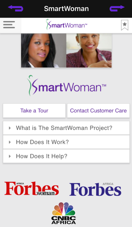 SmartWoman™ Africa- screenshot