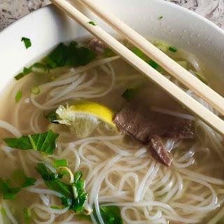 Pho | Vietnamese Beef Noodle Soup.