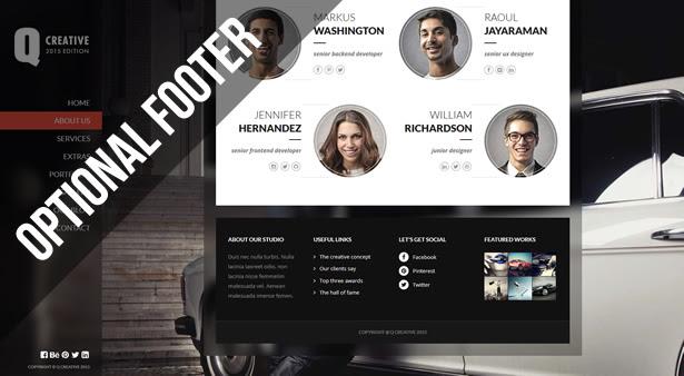 Q Creative - The HTML5 Template - 16