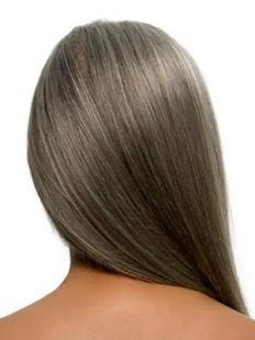 gray hair - náhled