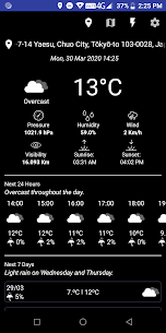 Weather Today – Forecast 5
