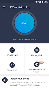 AVG AntiVirus 2018 for Android Security Screenshot