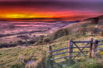 Photo: Castleton starts to wake from its slumbers.