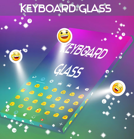 Glass Keyboard Theme 4.181.106.86 screenshot 1872205