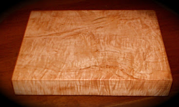 Photo: curly maple serving board