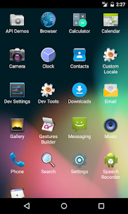Essential Launcher - náhled