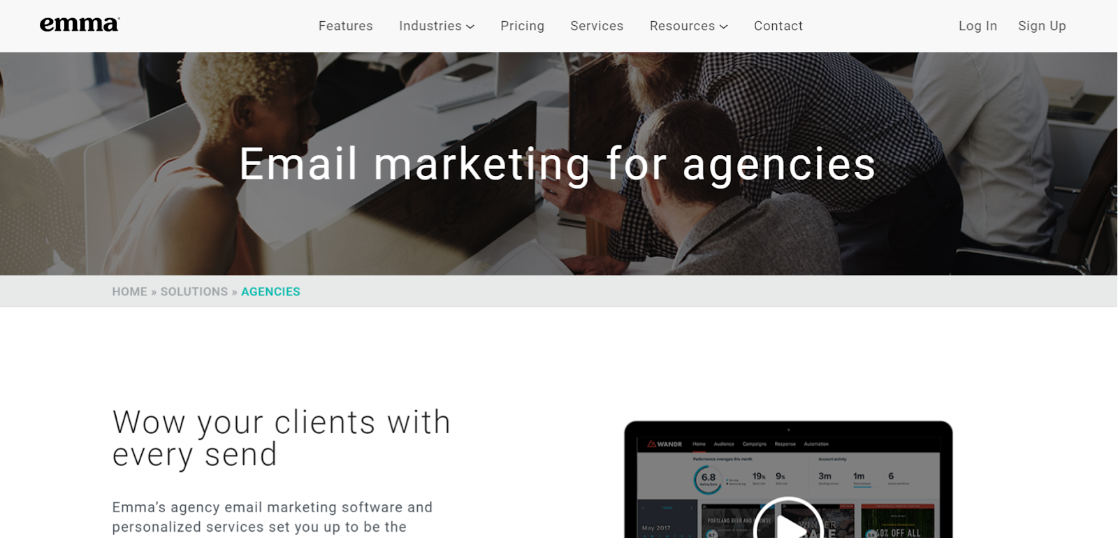 email marketing automation for agencies