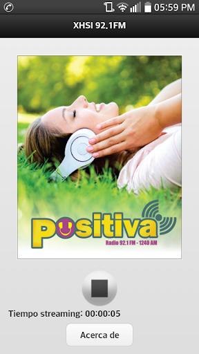 XHSI 92.1 FM RADIO POSITIVA
