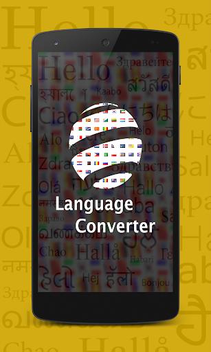Language Converter