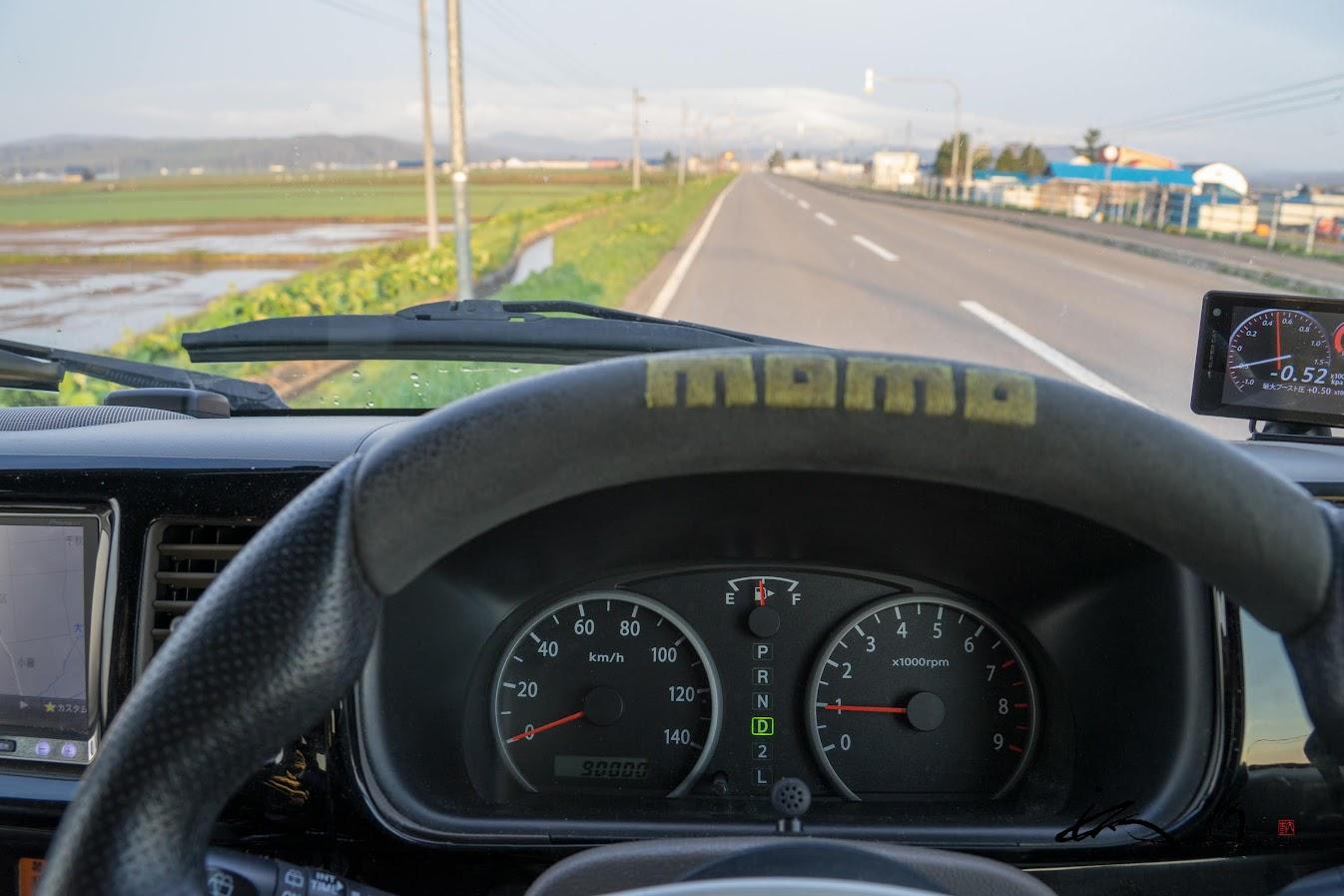走行距離が9万km超えたエブリィワゴン