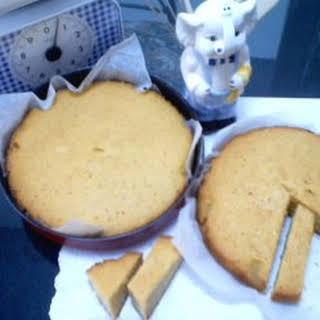 Sponge Cake.