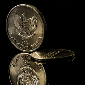 Coins by Haryo Suryo - Artistic Objects Other Objects ( reflection, coin, money )