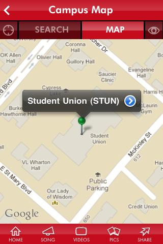 University Of Louisiana At Lafayette Campus Map.Ul Lafayette Mobile Apk Download Apkpure Co