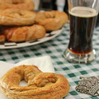 Heat up St. Patrick's Day with Ghost Pepper Salted Guinness Pretzels.