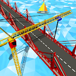 Bridge Construction Road Builder Games Icon