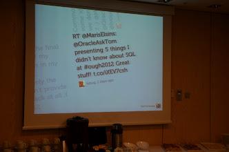 Photo: Online Tweets#ough2012 in a loop
