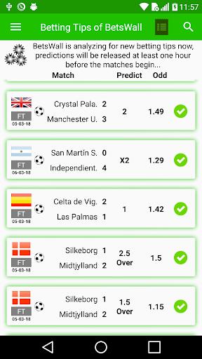 BetsWall Sports Betting Tips and Coupon Sharing 1.45 screenshots 1