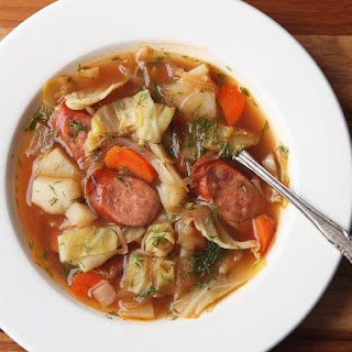 Polish Potato, Kielbasa, and Cabbage Soup (Kapusniak)