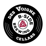 Logo for Des Voigne Cellars and B Side Brewing