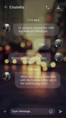 GO SMS PRO STILL LOVING THEME - screenshot