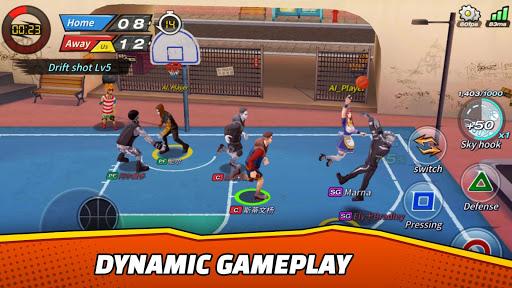 Télécharger Basketball Crew 2k19 - streetball bounce madness!  APK MOD (Astuce) screenshots 4