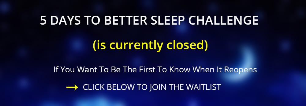 Sleep better waitlist