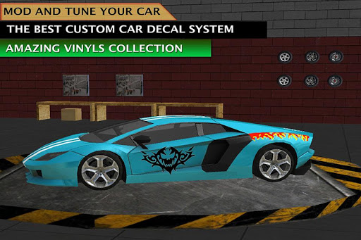 Extreme Tuning Sports Car