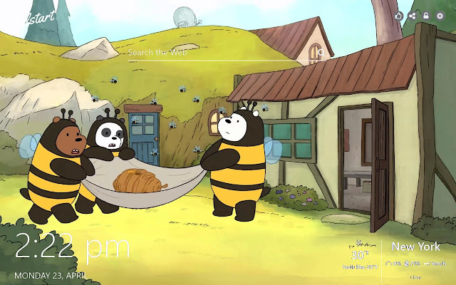 We Bare Bears HD Wallpapers Cartoon Theme
