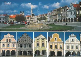 Photo: Telč (německy Teltsch, latinsky Telcz) je město v okrese Jihlava v kraji Vysočina, 25km jihozápadně od Jihlavy. Název se vyvíjel od varianty Telcz (1180), Telci (1207), v Telez (1283), Telcz (1315, 1331, 1339), Telsch (1356), Telcz (1367), Thelcz (1392), z Telče (1406), Telcz (1447), Telecz (1480), z Telče (1481), v Novém Telči (1486), Nowa Telcz (1490), Telczie (1580), Teltsch (1633), Teltzsch (1648), Teltsch (1678, 1718, 1720, 1751), Teltsch a Telč (1846, 1872) až k podobě Telč v letech 1881 a 1924. Místní jméno znělo původně Teleč a vzniklo přidáním přivlastňovací přípony -j? k osobnímu jménu Telec (ve významu mladý býček) a bylo rodu mužského. Pojmenování Telč je rodu ženského. Zdroj: Wikipedie, Otevřená encyklopedie