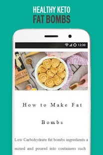 Healthy Recipes Fat Bombs Free - náhled