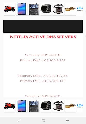 Free NetFlix DNS Codes 1.0 screenshots 1