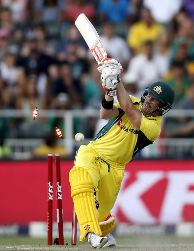 David Warner. Picture: SIPHIWE SIBEKO/REUTERS