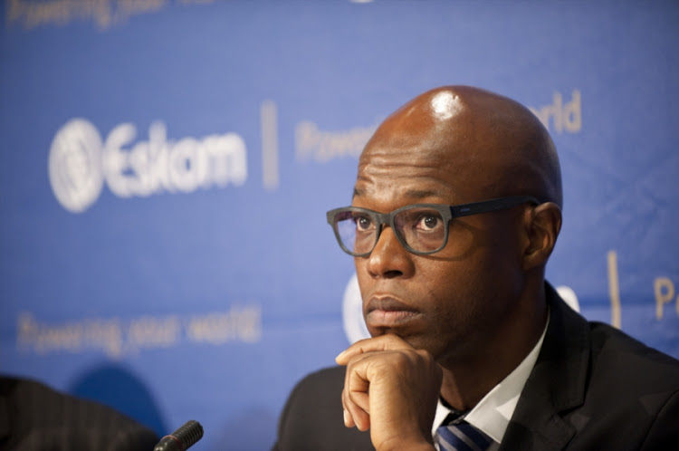Former acting Eskom boss Matshela Koko. File Photo.