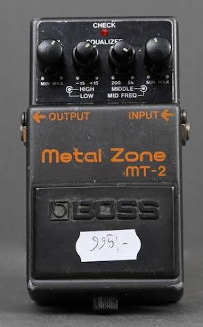Boss MT-2 USED. Fair condition. No box.