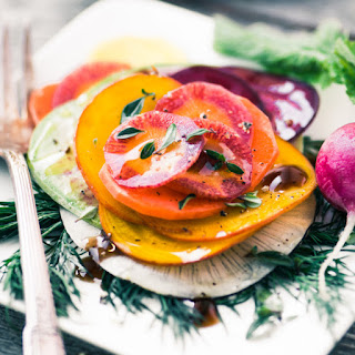 Shaved Winter Vegetable Salad Recipe