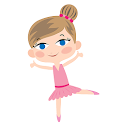 Animated Ballet Girl Stickers for Gboard icon