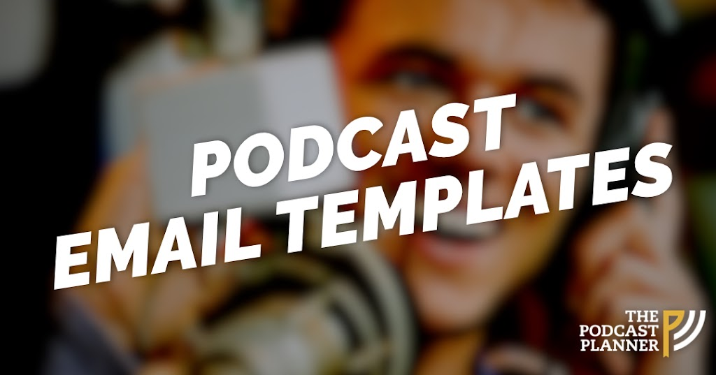 podcast email template
