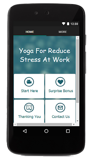 Yoga For Reduce Stress At Work