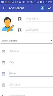 Rental Property Management Screenshot