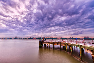 Photo: When the storm passes... Another shot from the a few nights ago at one of the piers on the west side in New York City